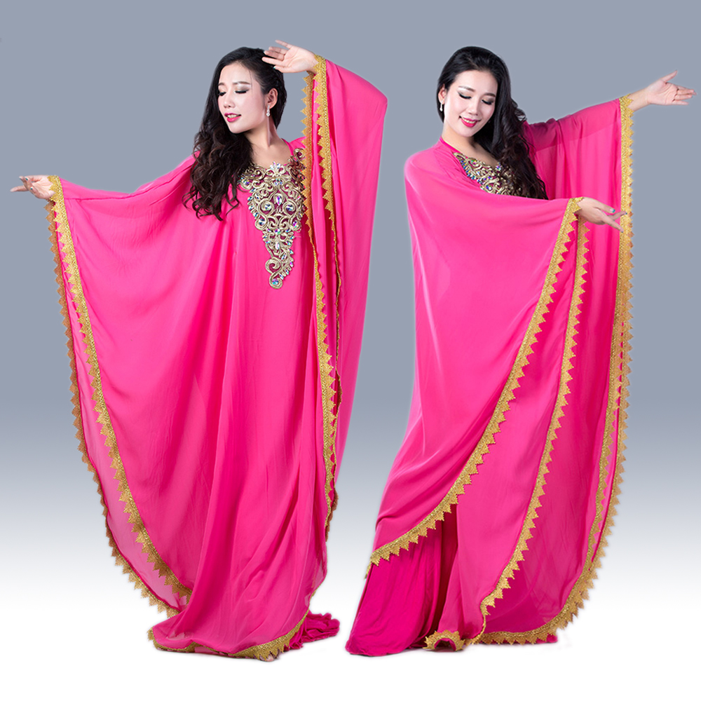 Professional Belly Dance Dress Women Ballroom Dance Clothes Dress For Girls Competition Clothing Dancer s Costumes