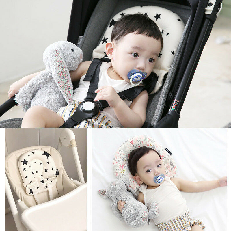 Cute Infant Baby Car Seat Pillow Cushion Pram Stroller Headrest Support Pad Ma