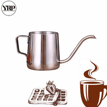 YRP 250ML/350ML Stainless Steel Coffee Kettle Pitcher Drip Teapots Long Gooseneck Spout Pour Hario Pot For Kitchen Tool