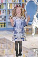 Girls 3D Floral Party Wedding Dress Beautiful Girls Evening Dresses Princess Dress for girls Kids Dresses Children Vestido
