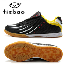 TIEBAO Professional Men Women Athletic Training Sneakers Indoor Sport Soccer Shoes IN & IC Rubber Soles Football Boots EU 39-44