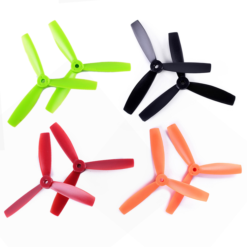 10 Pairs Three Blade Tri-Blade <font><b>3045</b></font> <font><b>Propeller</b></font> for 130 150 MINI RC Quadcopter Remote Control Quadcopter Parts & Accs FCI# image