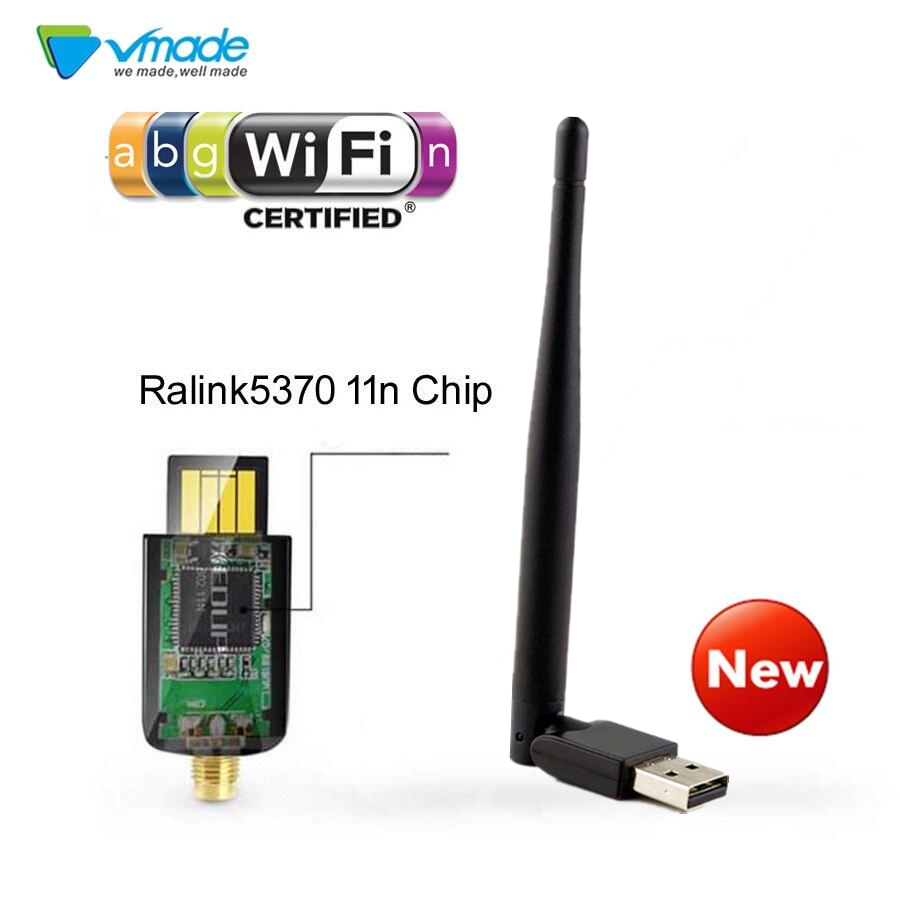 MINI USB WIFI Adapter Key 2db 150 Mbps Ralink 5370 WIFI 802.11b Wireless Network Card Receiver N/g/b High Speed Ethernet USB LAN