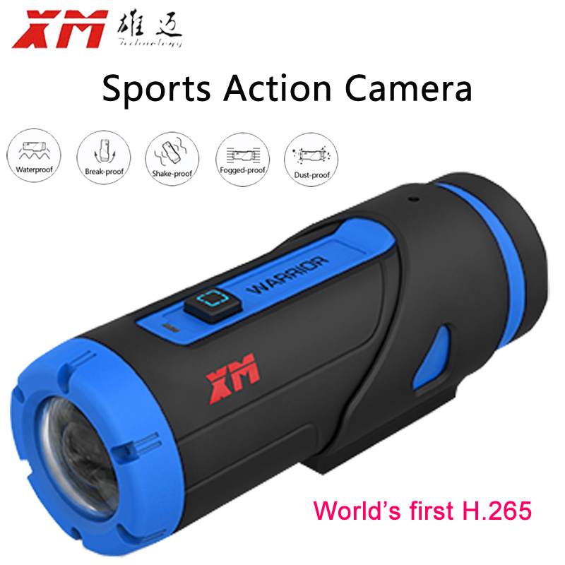 H 265 1080P Full HD Sport font b Camera b font Starlight Night Vision Wifi DV