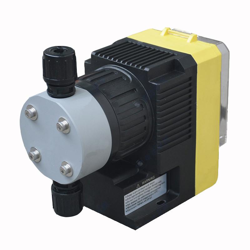 Electromagnetic Diaphragm Metering Pump Chemical Solvent Dosing Pump PVC 28W 220VElectromagnetic Diaphragm Metering Pump Chemical Solvent Dosing Pump PVC 28W 220V