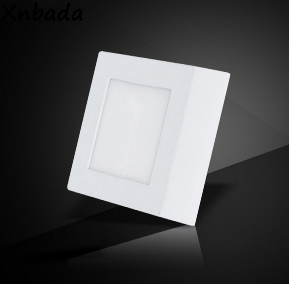 6w 12w 18w 24w Led Recessed Ceiling Flat Panel Down Light: Surface Mounted Led Panel Downlight,6W 12W 18W 24W Led
