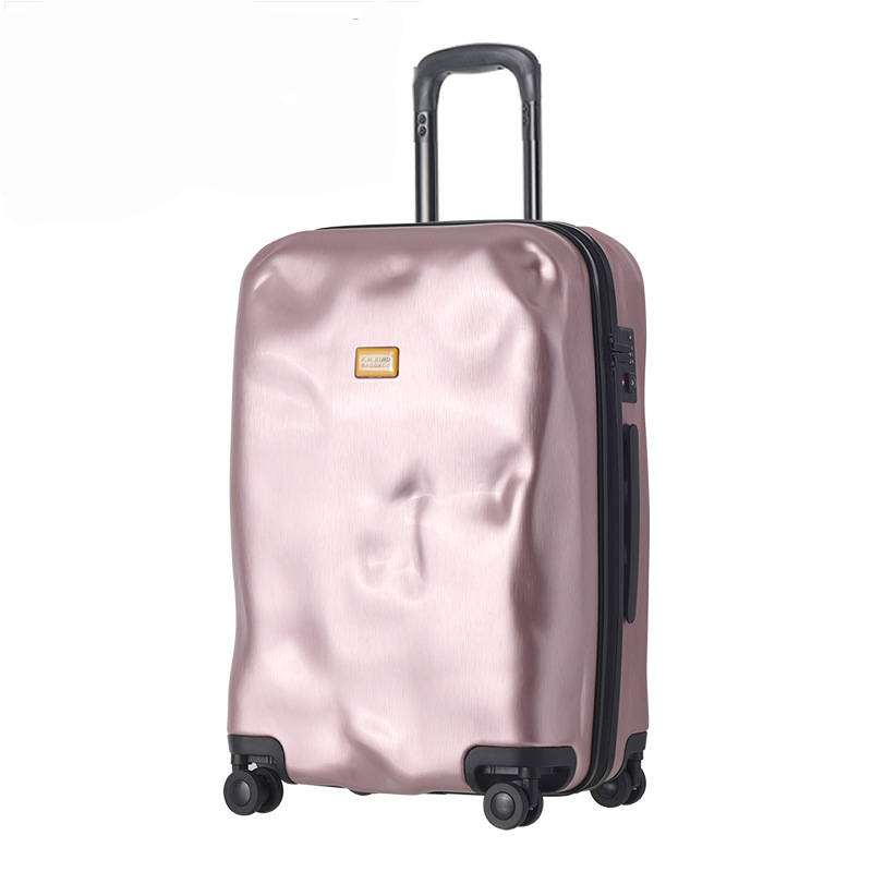 Letrend Fashion Creative Rolling Luggage Spinner Suitcases Wheels Trolley Travel Bag 20 inch Men Vintage Carry On Trunk 20 inch fashion rolling luggage women trolley men travel bag student boarding box children carry on luggage kids trunk suitcases