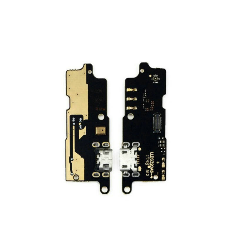 New Microphone Module+USB Charging Port Board Flex Cable Connector Parts For Lenovo C2 K10a40 Replacement