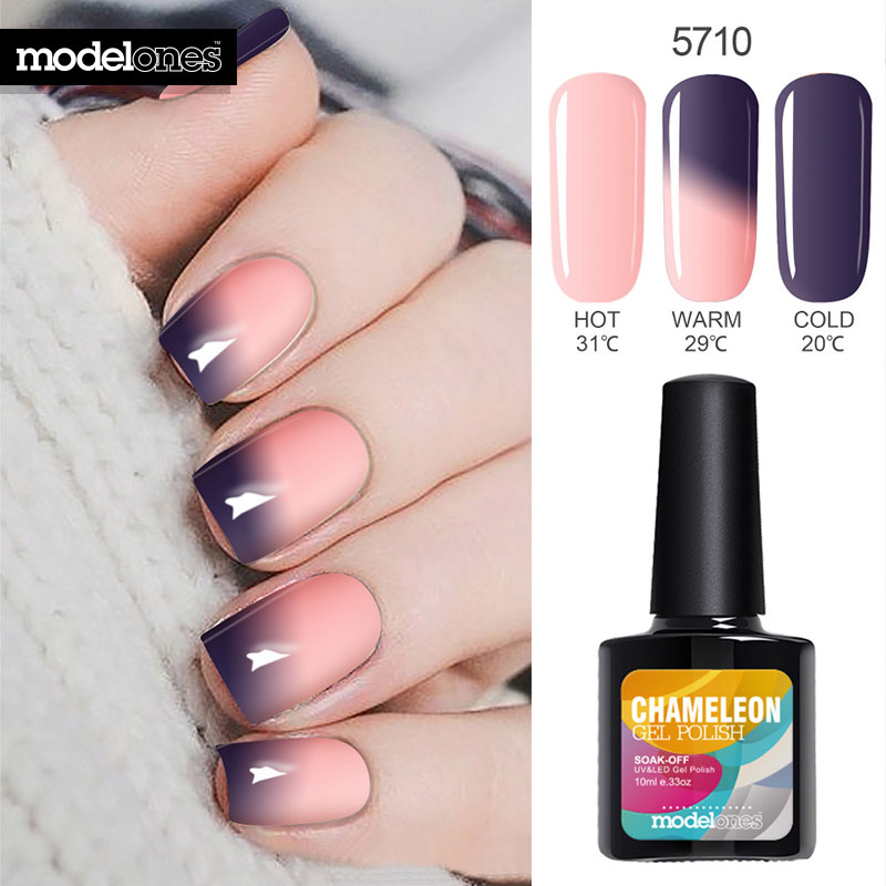 Modelones 10ML Thermo Nail Gel Polish Change Color