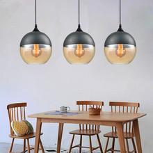 Kitchen Modern Pendant Light Bar Glass Pendant Ceiling Lamp Room Lighting Fixtures Home Vintage Industrial Pendant Lights Living mancoffee southeast asia bohemia glass vintage crystal ceiling light lantern bar