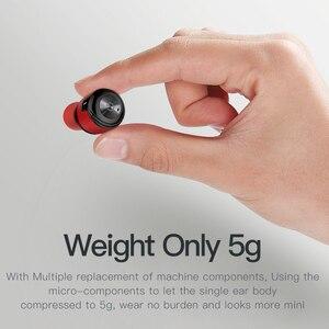 Image 5 - AWEI T8 TWS Bluetooth Kopfhörer Wahre Drahtlose Ohrhörer Mit Power Bank Dual Mikrofon 3D Stereo In Ohr Kopfhörer Für xiaomi iPhon