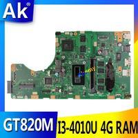 AK TP550LD Laptop motherboard for ASUS TP550LD TP550LA TP550L TP550 Test original mainboard DDR3L 4G RAM I3 4010U GT820M