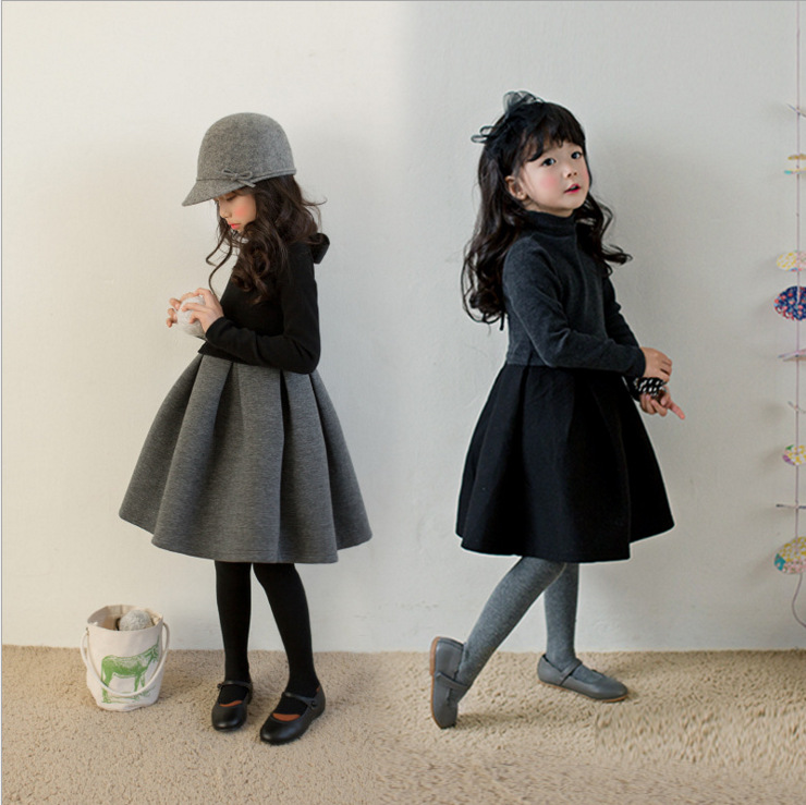 /girl/ autumn and winter dress plus /2018/new style/ girl air /Cotton/girl Princess dress/ in /Long sleeve/tutu/  for ch girl
