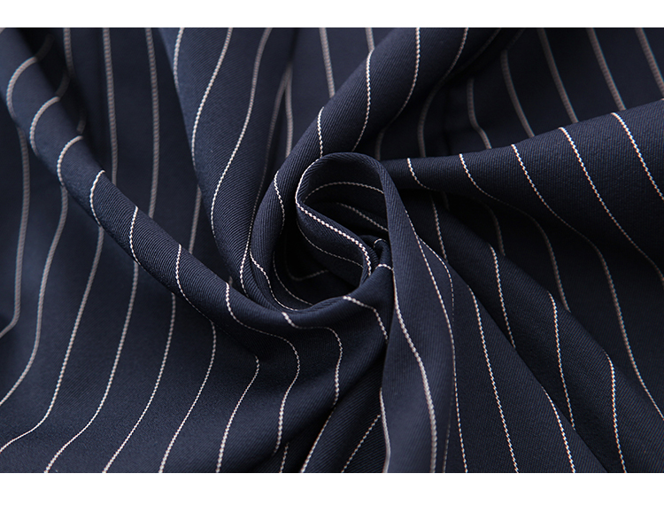 Sling Off Shoulder Sleeveless Striped Jumpsuit 2019 New Fashion V-Neck High Waist Nine Points Wide Leg Jumpsuit Summer 36
