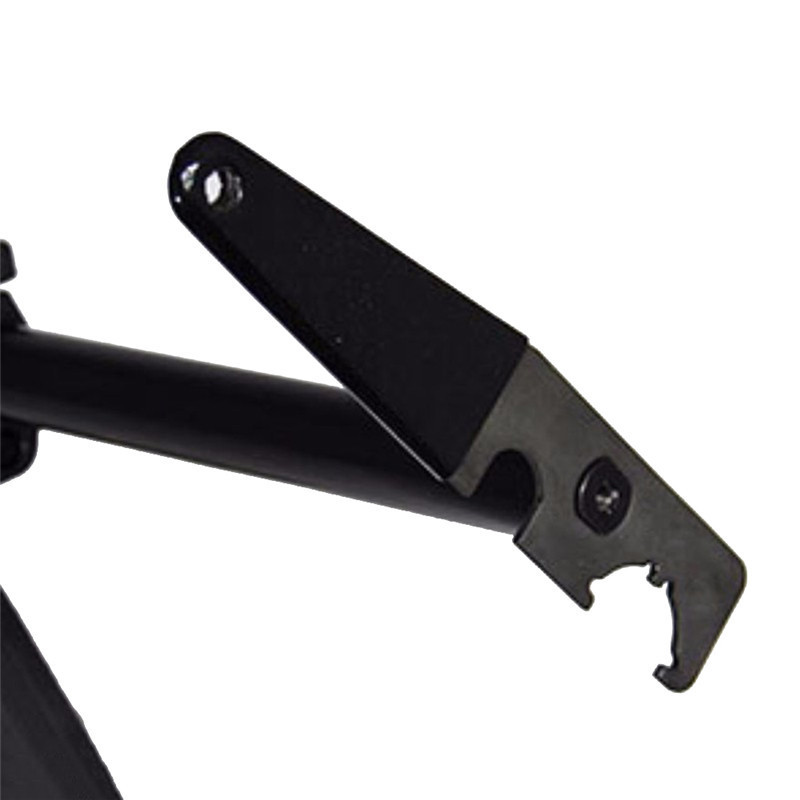 .223 Steel Enhanced AR15 Armorer Stock Spanner Wrench with Rubber Handle for Castle Nut A1/A2 Muzzle Brake Wrench
