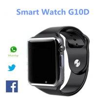 New Fashion Smart Watch G10D Bluetooth Wristwatch Sport Pedometer MTK6261D Sim Card Inteligente Smartwatch For Android Phone