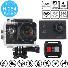 Original 4K SJ8000R 1080P Ultra 2.0 Inch Wifi Sport DV Action Camera Camcorder Remote Control Sports Camera
