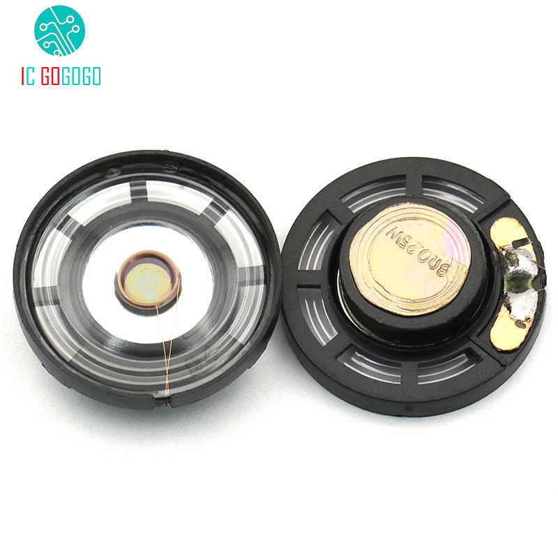 2pcs 8R 8 ohm 0.25W Small Speaker Diameter 29mm Speaker Loudspeaker Mini Power Amplifier Horn Loudspeaker Trumpet 0.25 Watt
