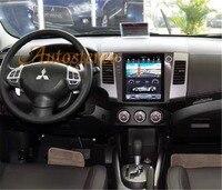Tesla Android автомобильный gps навигация для Mitsubishi Outlander 2006 ~ 2012 для Citroen C Crosser для peugeot 4007 нет DVD мультимедиа