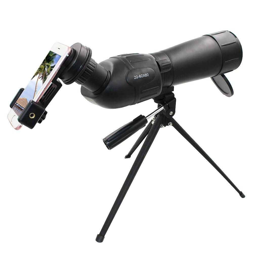 Girlwoman Nuit Vision 20-60X60 Zoom Télescope Lentille pour Smartphone Telescopio Celular Mobile Téléphone Télescope 60X Zoom