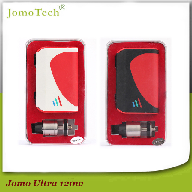 Temperature Control 100-315C Vape Mod Ultra 120 Box Mod SS/Ti/Ni TC Mods Electronic Cigarette Kit 5000mAh VW 5-120W Mod Jomo-191