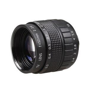 Image 2 - ฝูเจี้ยน50มิลลิเมตรF1.4กล้องวงจรปิดทีวีภาพยนตร์เลนส์+ C NEXภูเขาสำหรับSONY nex EเมาNEX3 NEX6 NEX7 A6500 A6300 A6000 A5000
