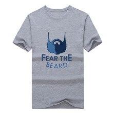 2017  Grizzlies MARC GASOL 33 T-shirt 100% cotton 12 short sleeve fear the beard T shirt 0113-15
