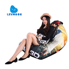 LEVMOON Beanbag Sofa Chair Captain Jack Seat Zac Comfort Bean Bag Bed Cover Without Filler Cotton Indoor Beanbag Lounge Chair