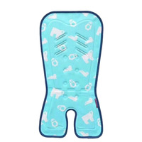 Summer Baby Ice Silk Pad Baby Stroller Seat Cushion Baby Stroller Gel Ice Pad Thickened Car Seat Baby Stroller Accessories Chi