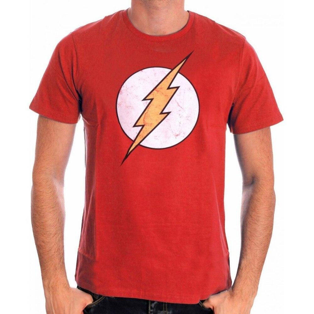Fashion printed t shirts gildan men 39 s flash comics classic for Big and tall printed t shirts