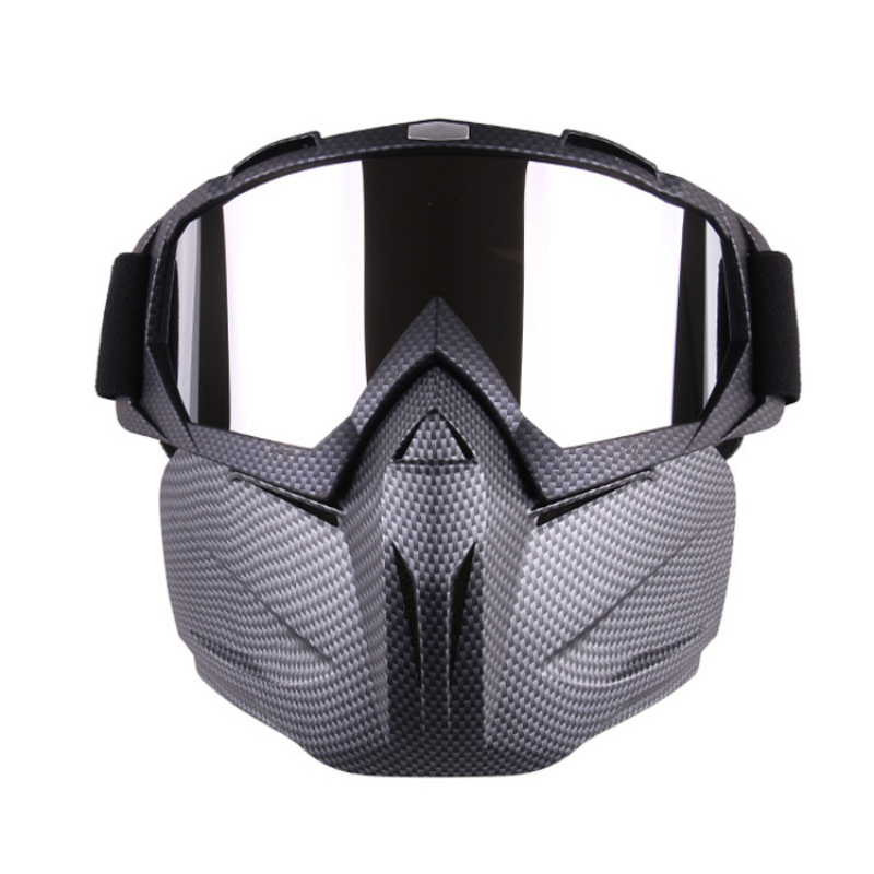 Cycling Goggles Face Mask Men Women Ski Snowmobile Goggles Mask Snow Winter Skiing Motocross Cycling Sunglasses(China)