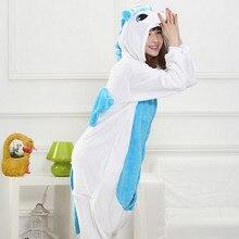 4d223e5348b3 Wholesale Sets Flannel Animal Panda Giraffe Pajamas set Women Winter Flannel  Nightie Cosplay Pyjamas Sleepwear Onesies