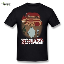 2018 Mens My Neighbor Totoro Akira T Shirt Cotton Graphic Japanese Anime Homme Tee Shirts