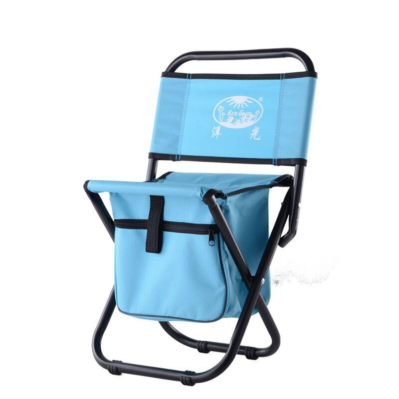 Free shipping Folding beach outdoor camping chair folding chair portable fishing chair with bag chair spot