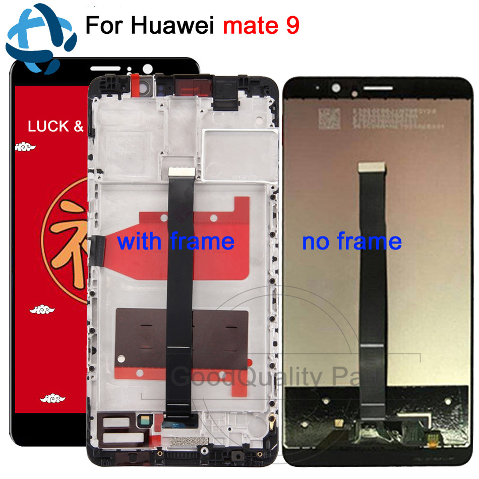 5.9LCD For HUAWEI Mate 9 Display Touch Screen Digitizer with Frame Display for Huawei Mate9 LCD MHA-L29 MHA-L09 Replacement5.9LCD For HUAWEI Mate 9 Display Touch Screen Digitizer with Frame Display for Huawei Mate9 LCD MHA-L29 MHA-L09 Replacement