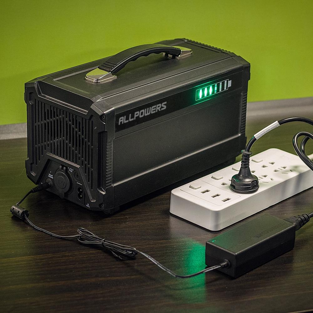 портативный AC/DC/USB/type-C S электростанции