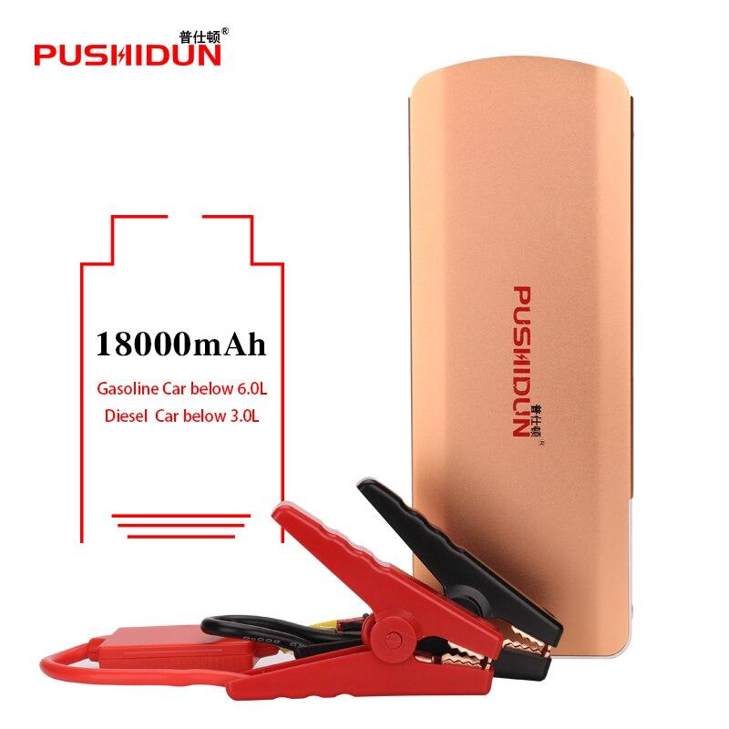 Auto Starter Batterie Automobile Batterie 12 V Portable Power Pack Banque D'alimentation Chargeur De Voiture Batterie Jumpstarter K66