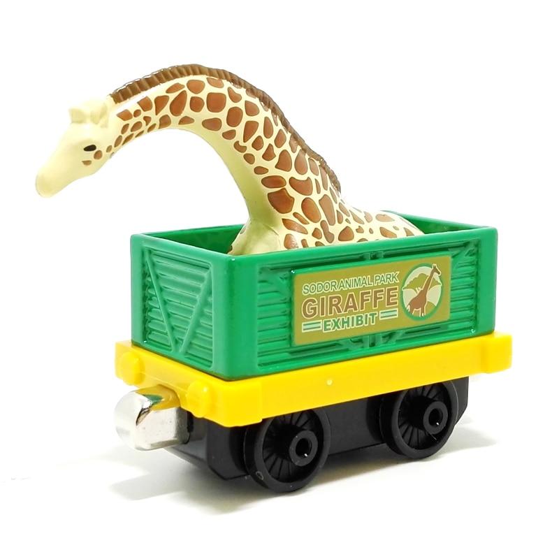 m011 Scarcity Edition Thomas and friend diecast magnetic alloy sodor animal park giraffe exhibit giraffe transport trucks