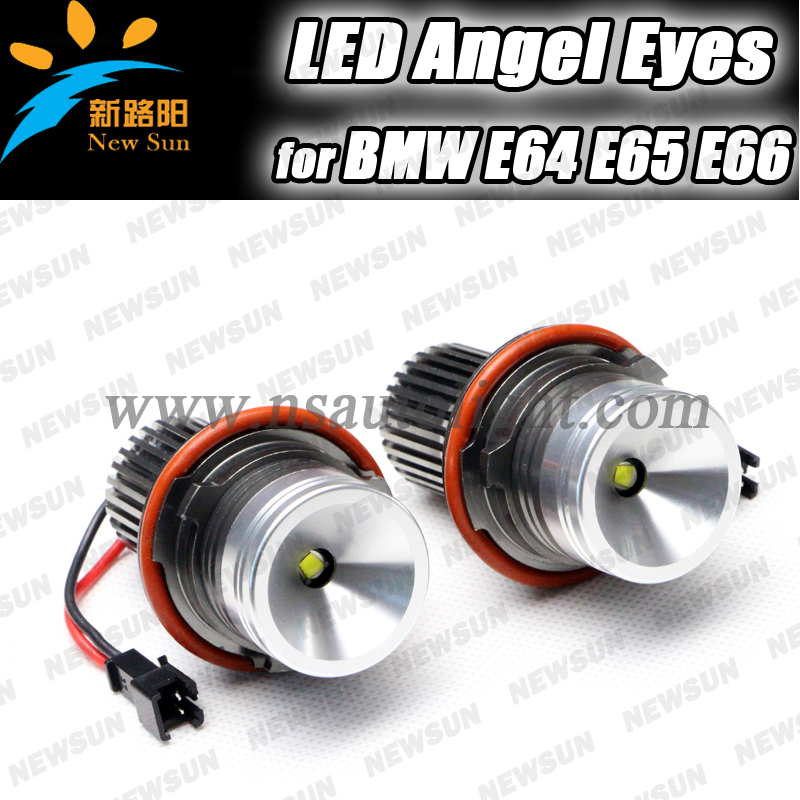 Free shipping 2016 NEW high power led marker angel eyes for bmw E39 E39 E60 E63 E65 E53 X3 angel eyes fog lamp 1 pair free shipping high power cree angel eyes led maker lamp fit for bmw e39 e53 e60 e61 e63 e64 e66