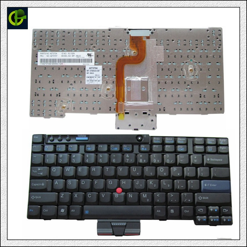 English Keyboard for IBM Lenovo ThinkPad X200 X201 Tablet X200 X200s X200si X200t X201 X201i X201S 09S1SF 42T3737 42T3767 US new screw set lenovo thinkpad x220 x220t x220i x230 x230t x200 x200s x200t x201 x201s x201t tablet laptop screws bag 04w1419