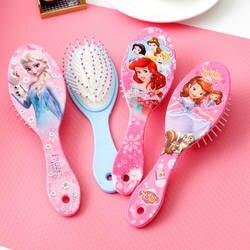 Disney замороженная расческа для девочек принцесса Минни Маус щетки для волос уход за волосами для маленьких девочек Уход за волосами Микки