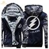 HAMPSON LANQE Superman The Flash Zipper Hoodies Mens 2017 Winter Jackets Men Warm Fashion Sweatshirts Men