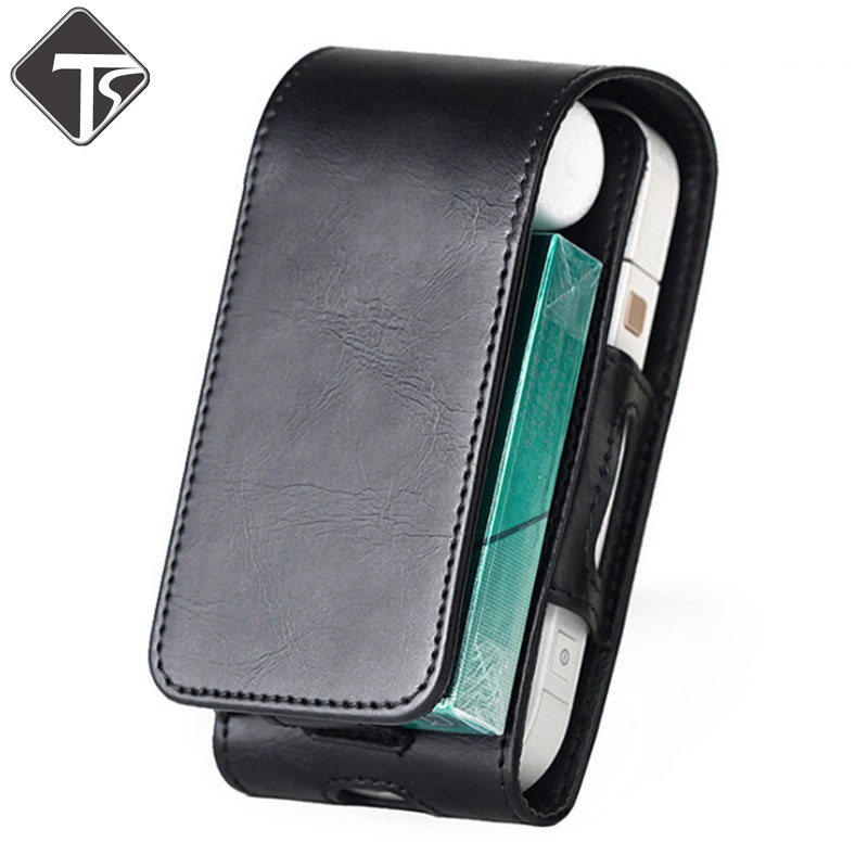 Tsondianz PU Leather Case Flip Cover cover bag For iQOS Electronic Cigarette Carrying Protective стоимость