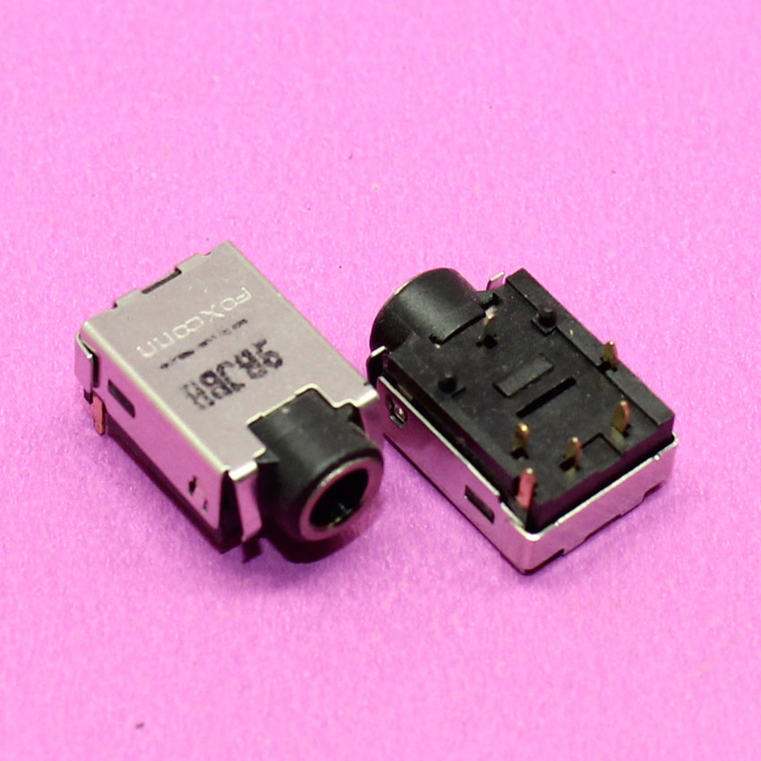 YuXi Brand New 3.5mm 8P audio jack for Laptop Samsung Acer Asus Dell HP Lenovo etc. Series headphone jack