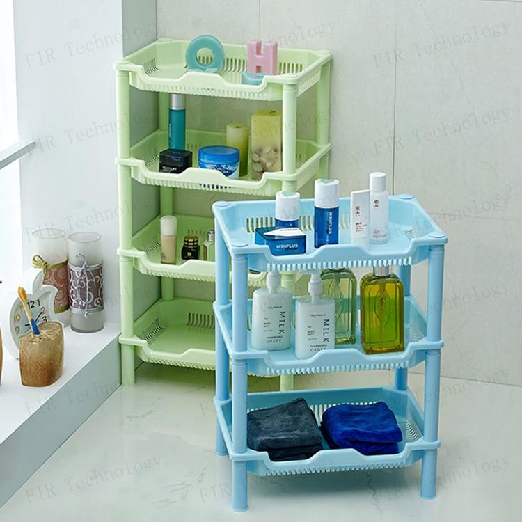 Amovible New en plastique Durable salle de bains étagère de ...