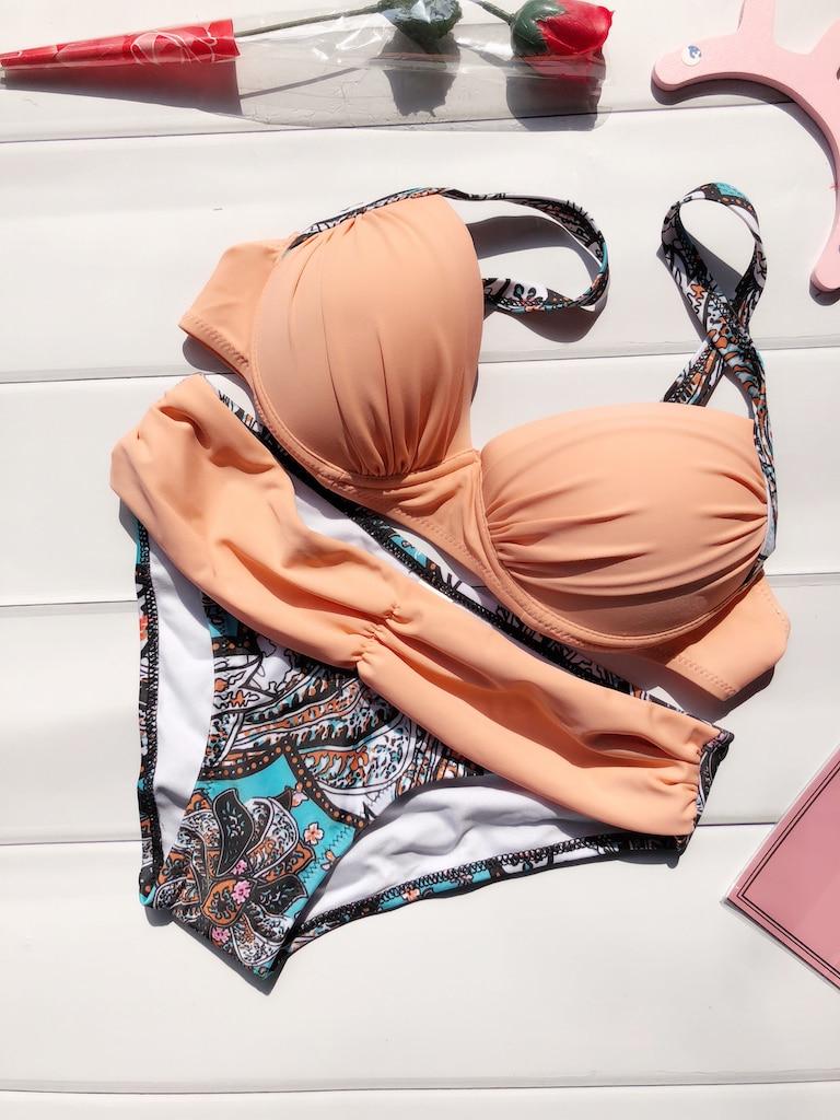 2016 bademode Bikini Set Sommer Sexy Frauen Badeanzug Tankini Push Up Badeanzug Brasilianische