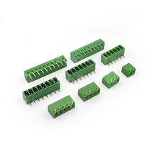 50pcs  Connector Plug-in Terminal Blocks Curved Ne