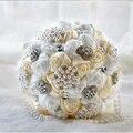 Latest Design Handmade Pearl And Diamond 1Pc Wedding Bouquet