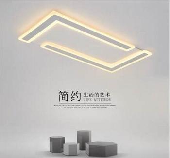 Lumières De Plafond Moderne à LEDs Montées Par Surface Ultra-mince Pour Des Montages De Plafonnier De Lustres De Sala De Salle D'étude De Chambre à Coucher De Salon