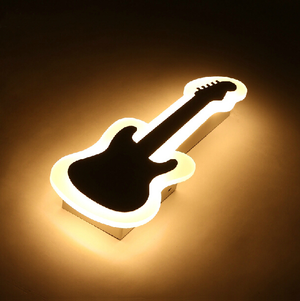 Modern led  wall lights for bedroom balcony kids room Hardware+Acrylic 10W home decoration wall lamp free shipping